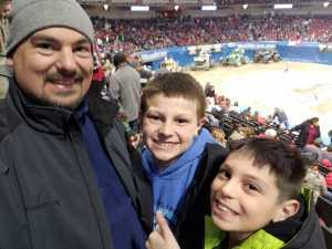 Richard attended Monster Jam on Mar 29th 2019 via VetTix