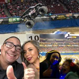Vicente attended Monster Jam on Mar 29th 2019 via VetTix