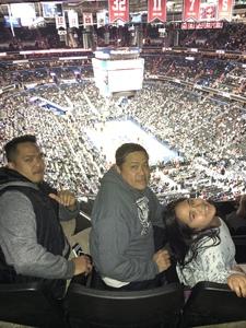 Melanio attended Washington Wizards vs. Cleveland Cavaliers - NBA on Feb 8th 2019 via VetTix