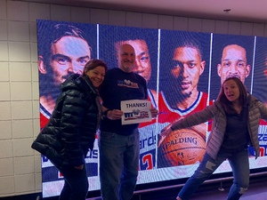Andrew attended Washington Wizards vs. Cleveland Cavaliers - NBA on Feb 8th 2019 via VetTix