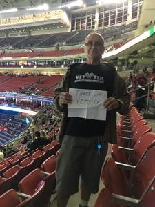 Daniel attended Academy Sports and Outdoors Texas Bowl - Baylor vs. Vanderbilt - NCAA Football on Dec 27th 2018 via VetTix