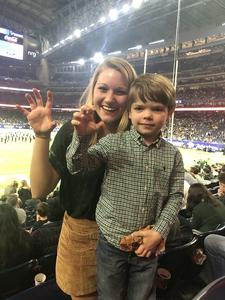 Josh attended Academy Sports and Outdoors Texas Bowl - Baylor vs. Vanderbilt - NCAA Football on Dec 27th 2018 via VetTix