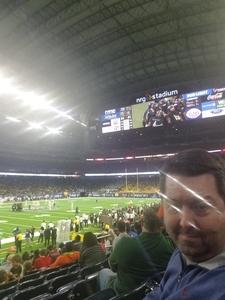 Kris attended Academy Sports and Outdoors Texas Bowl - Baylor vs. Vanderbilt - NCAA Football on Dec 27th 2018 via VetTix