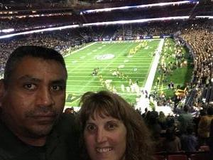 gerardo attended Academy Sports and Outdoors Texas Bowl - Baylor vs. Vanderbilt - NCAA Football on Dec 27th 2018 via VetTix