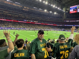 Jeffery attended Academy Sports and Outdoors Texas Bowl - Baylor vs. Vanderbilt - NCAA Football on Dec 27th 2018 via VetTix