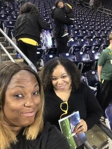 Kimberly attended Academy Sports and Outdoors Texas Bowl - Baylor vs. Vanderbilt - NCAA Football on Dec 27th 2018 via VetTix