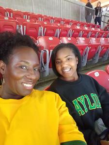 Smichele Howard attended Academy Sports and Outdoors Texas Bowl - Baylor vs. Vanderbilt - NCAA Football on Dec 27th 2018 via VetTix
