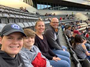 Hill Family attended Monster Jam on Apr 20th 2019 via VetTix