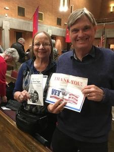 Adrian attended Silent Night: a WWI Memorial in Song - Phoenix Performance on Jan 9th 2019 via VetTix