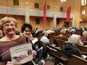 John attended Silent Night: a WWI Memorial in Song - Phoenix Performance on Jan 9th 2019 via VetTix