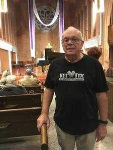 Glenn attended Silent Night: a WWI Memorial in Song - Phoenix Performance on Jan 9th 2019 via VetTix