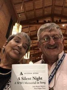 Donald attended Silent Night: a WWI Memorial in Song - Phoenix Performance on Jan 9th 2019 via VetTix