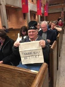 Stephen attended Silent Night: a WWI Memorial in Song - Phoenix Performance on Jan 9th 2019 via VetTix