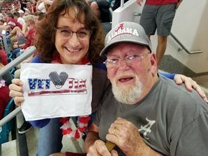Debbie attended 2018 Capital One Orange Bowl - Oklahoma Sooners vs. Alabama Crimson Tide - College Football Playoffs Semifinal Game on Dec 29th 2018 via VetTix