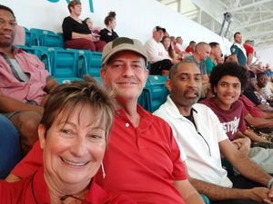 Diane attended 2018 Capital One Orange Bowl - Oklahoma Sooners vs. Alabama Crimson Tide - College Football Playoffs Semifinal Game on Dec 29th 2018 via VetTix