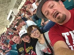 Phil attended 2018 Capital One Orange Bowl - Oklahoma Sooners vs. Alabama Crimson Tide - College Football Playoffs Semifinal Game on Dec 29th 2018 via VetTix