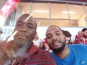 Anthony attended 2018 Capital One Orange Bowl - Oklahoma Sooners vs. Alabama Crimson Tide - College Football Playoffs Semifinal Game on Dec 29th 2018 via VetTix