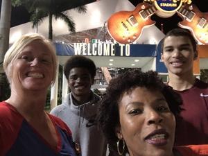 SHANNON attended 2018 Capital One Orange Bowl - Oklahoma Sooners vs. Alabama Crimson Tide - College Football Playoffs Semifinal Game on Dec 29th 2018 via VetTix