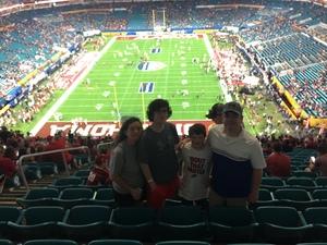 Lee attended 2018 Capital One Orange Bowl - Oklahoma Sooners vs. Alabama Crimson Tide - College Football Playoffs Semifinal Game on Dec 29th 2018 via VetTix