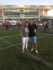 WILLIAM attended 2018 Capital One Orange Bowl - Oklahoma Sooners vs. Alabama Crimson Tide - College Football Playoffs Semifinal Game on Dec 29th 2018 via VetTix