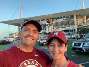 James attended 2018 Capital One Orange Bowl - Oklahoma Sooners vs. Alabama Crimson Tide - College Football Playoffs Semifinal Game on Dec 29th 2018 via VetTix