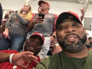 JB attended 2018 Capital One Orange Bowl - Oklahoma Sooners vs. Alabama Crimson Tide - College Football Playoffs Semifinal Game on Dec 29th 2018 via VetTix
