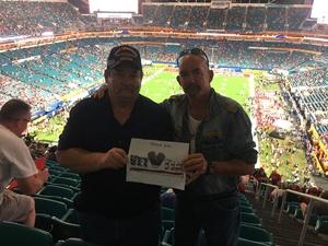Frank McElroy attended 2018 Capital One Orange Bowl - Oklahoma Sooners vs. Alabama Crimson Tide - College Football Playoffs Semifinal Game on Dec 29th 2018 via VetTix