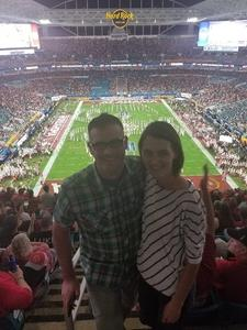 ASH attended 2018 Capital One Orange Bowl - Oklahoma Sooners vs. Alabama Crimson Tide - College Football Playoffs Semifinal Game on Dec 29th 2018 via VetTix