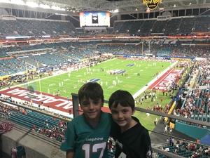 Matthew attended 2018 Capital One Orange Bowl - Oklahoma Sooners vs. Alabama Crimson Tide - College Football Playoffs Semifinal Game on Dec 29th 2018 via VetTix