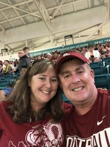 John attended 2018 Capital One Orange Bowl - Oklahoma Sooners vs. Alabama Crimson Tide - College Football Playoffs Semifinal Game on Dec 29th 2018 via VetTix