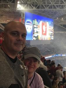 David attended 2018 Capital One Orange Bowl - Oklahoma Sooners vs. Alabama Crimson Tide - College Football Playoffs Semifinal Game on Dec 29th 2018 via VetTix