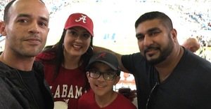 Emilio attended 2018 Capital One Orange Bowl - Oklahoma Sooners vs. Alabama Crimson Tide - College Football Playoffs Semifinal Game on Dec 29th 2018 via VetTix