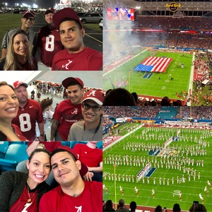 Keith attended 2018 Capital One Orange Bowl - Oklahoma Sooners vs. Alabama Crimson Tide - College Football Playoffs Semifinal Game on Dec 29th 2018 via VetTix