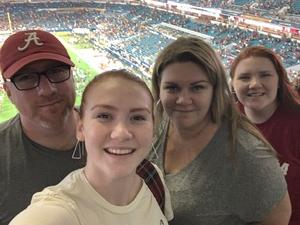 Rich attended 2018 Capital One Orange Bowl - Oklahoma Sooners vs. Alabama Crimson Tide - College Football Playoffs Semifinal Game on Dec 29th 2018 via VetTix