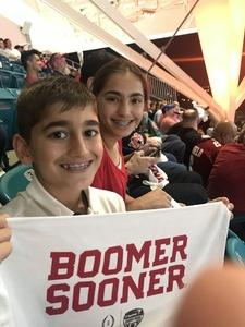 Afridi Family attended 2018 Capital One Orange Bowl - Oklahoma Sooners vs. Alabama Crimson Tide - College Football Playoffs Semifinal Game on Dec 29th 2018 via VetTix