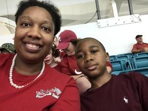 Tyechia attended 2018 Capital One Orange Bowl - Oklahoma Sooners vs. Alabama Crimson Tide - College Football Playoffs Semifinal Game on Dec 29th 2018 via VetTix