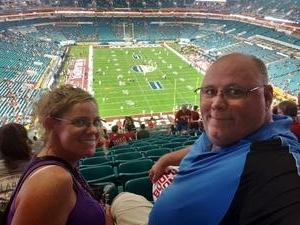 Darryl attended 2018 Capital One Orange Bowl - Oklahoma Sooners vs. Alabama Crimson Tide - College Football Playoffs Semifinal Game on Dec 29th 2018 via VetTix