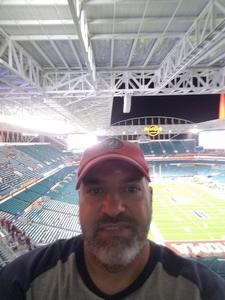 David attended 2018 Capital One Orange Bowl - Oklahoma Sooners vs. Alabama Crimson Tide - College Football Playoffs Semifinal Game on Dec 29th 2018 via VetTix