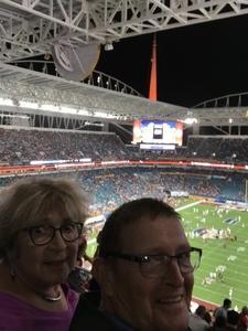 Alan attended 2018 Capital One Orange Bowl - Oklahoma Sooners vs. Alabama Crimson Tide - College Football Playoffs Semifinal Game on Dec 29th 2018 via VetTix
