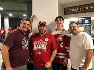 Mark attended 2018 Capital One Orange Bowl - Oklahoma Sooners vs. Alabama Crimson Tide - College Football Playoffs Semifinal Game on Dec 29th 2018 via VetTix