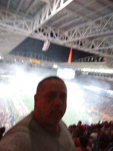 Rocco attended 2018 Capital One Orange Bowl - Oklahoma Sooners vs. Alabama Crimson Tide - College Football Playoffs Semifinal Game on Dec 29th 2018 via VetTix