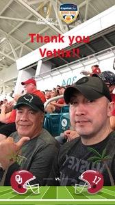 Alex attended 2018 Capital One Orange Bowl - Oklahoma Sooners vs. Alabama Crimson Tide - College Football Playoffs Semifinal Game on Dec 29th 2018 via VetTix