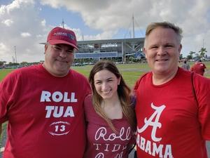 Jesse attended 2018 Capital One Orange Bowl - Oklahoma Sooners vs. Alabama Crimson Tide - College Football Playoffs Semifinal Game on Dec 29th 2018 via VetTix