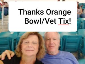 michael attended 2018 Capital One Orange Bowl - Oklahoma Sooners vs. Alabama Crimson Tide - College Football Playoffs Semifinal Game on Dec 29th 2018 via VetTix