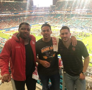 TOBIAS attended 2018 Capital One Orange Bowl - Oklahoma Sooners vs. Alabama Crimson Tide - College Football Playoffs Semifinal Game on Dec 29th 2018 via VetTix