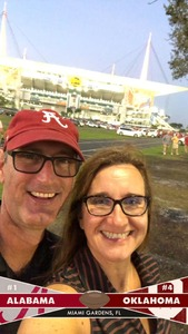 Alan attended 2018 Capital One Orange Bowl - Oklahoma Sooners vs. Alabama Crimson Tide - College Football Playoffs Semifinal Game on Dec 29th 2018 via VetTix