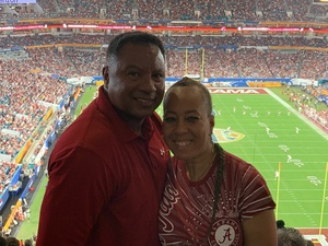 PAULA attended 2018 Capital One Orange Bowl - Oklahoma Sooners vs. Alabama Crimson Tide - College Football Playoffs Semifinal Game on Dec 29th 2018 via VetTix