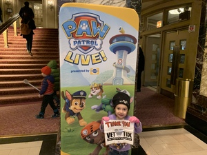 Jeremy attended PAW Patrol Live! Race to the Rescue - Presented by Vstar Entertainment - 10:30am on Jan 12th 2019 via VetTix