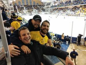 Tim attended University of Michigan Wolverines vs. Merrimack Warriors - NCAA Men's Hockey on Jan 8th 2019 via VetTix