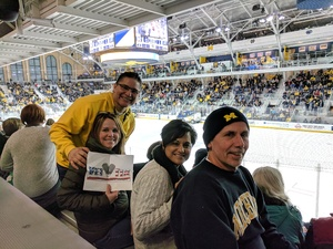 Ralph attended University of Michigan Wolverines vs. Merrimack Warriors - NCAA Men's Hockey on Jan 8th 2019 via VetTix